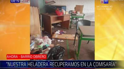 Denuncian robos y destrozos diarios en escuela de barrio Obrero