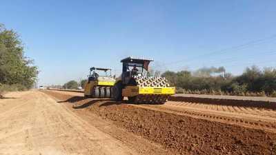 Continúan últimos trabajos pendientes en la ruta de acceso a Loma Plata
