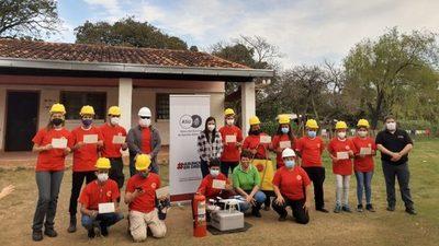 Asunción cuenta con primera brigada comunitaria de prevención de incendios forestales