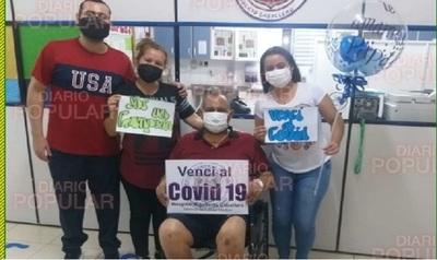 El covid le tuvo 70 días hospitalizado, 45 en UTI, a jefe policial, pero hubo final feliz: ¡sobrevivió!
