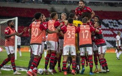 Atento Olimpia: Flamengo destroza rivales en Brasil