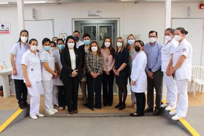 Tras donación, Lourdes Careaga Meaurio insistió en salud para lograr la reactivación económica