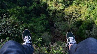 Accidente en tirolesa de Salto Suizo causa un gran susto