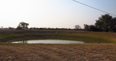 La Nación / La falta de lluvias afecta los reservorios en el Chaco y la crisis podría agudizarse