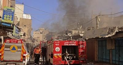 La Nación / Palestinos acusan a Hamás de almacenar armas en zonas residenciales de Gaza