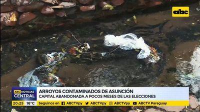 Arroyos contaminados de Asunción