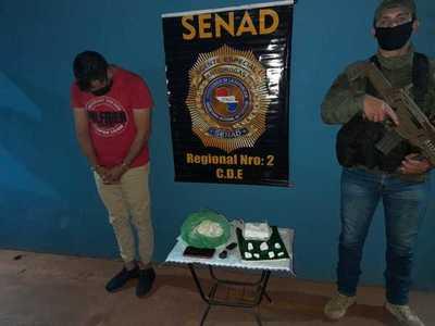 Cae supuesto distribuidor de cocaína en Presidente Franco
