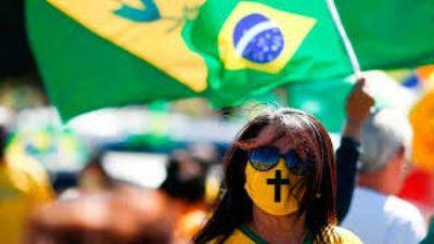 Covid: Brasil registra 587 muertes en 24 horas