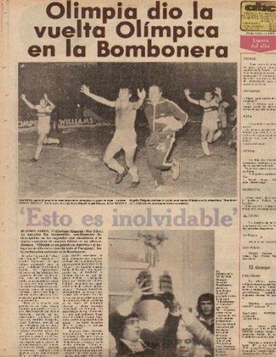 Olimpia, 42 años de la conquista de la 1ª Libertadores