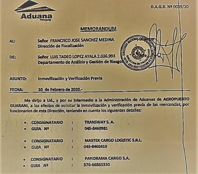 "Aduana sigue con ""APRIETE"" a importadores del Este"