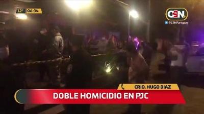 PJC: Pareja asesinados a balazos