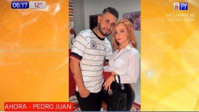 Asesinan a tiros a pareja en Pedro Juan Caballero