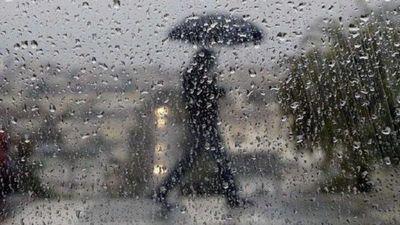 Anuncian lluvia y frío durante todo el día