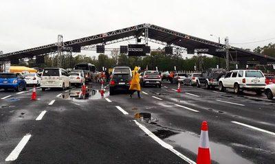 Autódromo cerrado desde hoy martes hasta el domingo