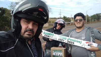 Tekojoja defiende candidaturas en todo el departamento de A. Paraná – Diario TNPRESS