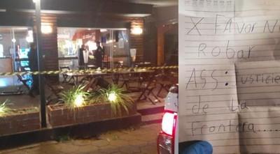 Acaban con la vida de una joven que festejaba su cumpleaños y su novio en un bar de Pedro Juan
