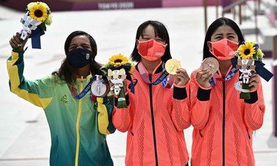 Adolescentes de 13 años arrasan en los Juegos Olímpicos