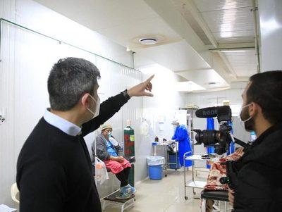 Descenso importante de internados por Covid en hospital de Ciudad del Este · Radio Monumental 1080 AM