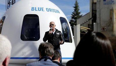 Bezos ofrece US$2.000 millones a la NASA por la futura sonda lunar