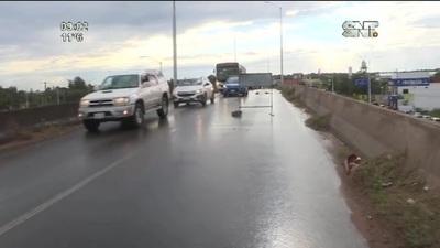 Peligrosa grieta golpea los vehículos y pone en peligro a conductores