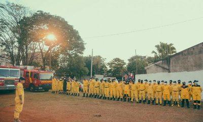 Juran nuevos bomberos voluntarios en CDE