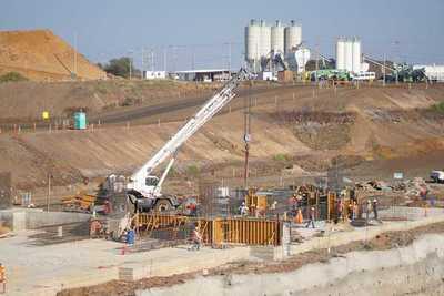 Aña Cuá avanza con construcción de casa de máquinas, canal de restitución y presa