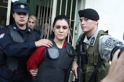 Caso María Edith Bordón Debernardi: Compurgan pena de Carmen Villalba