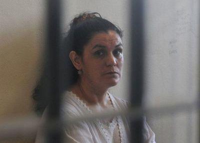 Jueza dispone libertad de Carmen Villalba, pero seguirá en prisión