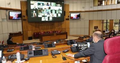 La Nación / Senado va a cuarto intermedio para tratar proyecto de contingencia económica y social