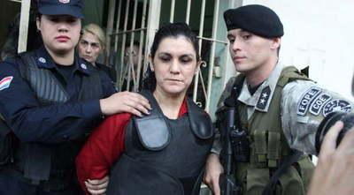 Carmen Villalba cumplió su condena por secuestro, pero tiene otra condena