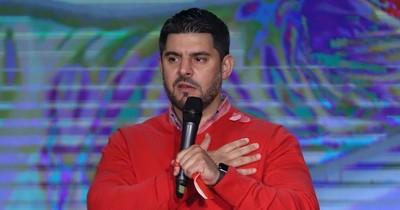 """La Nación / """"Fui electo en unas internas, no soy producto de una digitación"""", dice Oscar Rodríguez"""