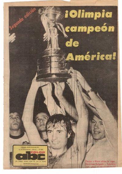 "Osvaldo Domínguez Dibb: ""Ese día marcamos la gloria eterna para Olimpia"""