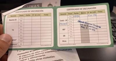 La Nación / Empiezan a exigir carnet de vacunación en locales privados
