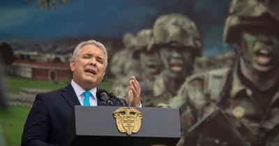 """La Nación / Colombia pide a EEUU declarar a Venezuela """"promotor del terrorismo"""""""