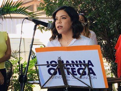 Johanna Ortega asegura que no declinará su candidatura para ser intendenta de Asunción