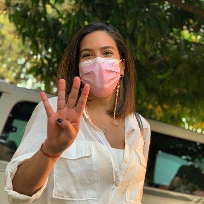Johanna Ortega aseguró que su candidatura sigue firme