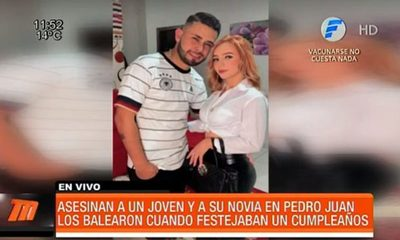 Asesinan a joven pareja en Pedro Juan Caballero