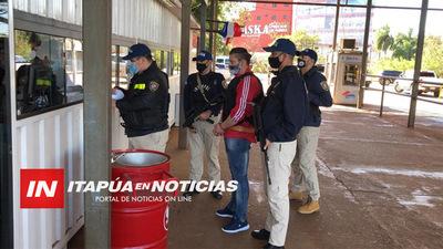 PARAGUAYO EXTRADITADO DESDE ARGENTINA PARA SER JUZGADO POR UN SANGRIENTO HOMICIDIO EN MA. AUXILIADORA.