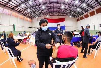 Paraguay se aproxima al 30% de la población vacunada contra el covid-19