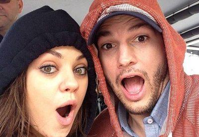 Ashton Kutcher y Mila Kunis admitieron que no se bañan todos los días