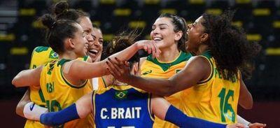 Argentina sigue sin ganar y Brasil repite triunfo en voleibol femenino en Tokio