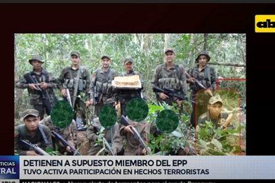 """Jueza ordena prisión preventiva para """"combatiente"""" del EPP"""