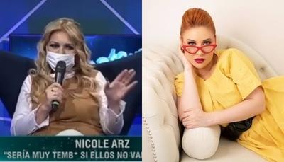 Nicole se disculpó con Adela y ella no le creyó para nada