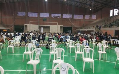 Terminan dosis anticovid en Alto Paraná, quedan 1.000 dosis en el Parque Lineal y 300 en el polideportivo de CDE