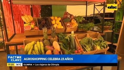 Agroshopping celebra 23 años