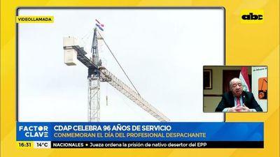 Centro de despachantes de aduana del Paraguay (CDAP) celebra 96 años