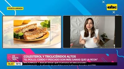 Colesterol y triglicéridos altos