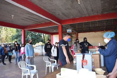 En Paraguarí mañana proseguirá la vacunación hasta terminar las dosis