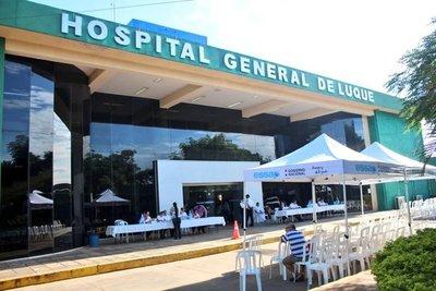 Entre 60 y 100 personas quedaron sin vacunarse por falta de vacunas en Luque