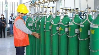 Brasil autorizó la exportación al Paraguay de 1.676 toneladas de oxigenó medicinal
